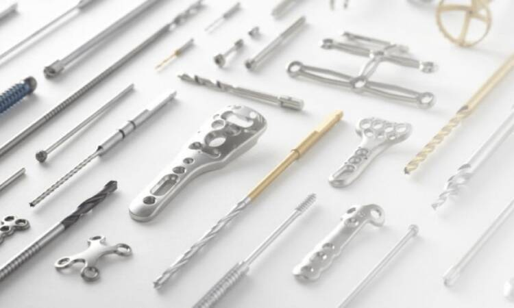 Most common types of orthopedic implants